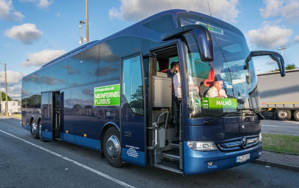 MeinFernbus nach Malmö